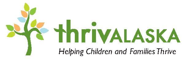 Thrivalaska Head Start Birth-Five's Logo