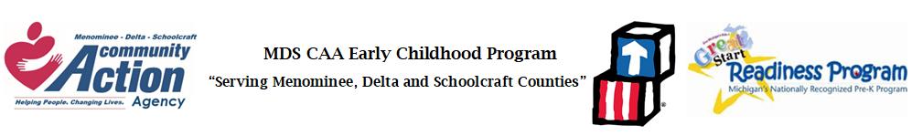 MDS CAA Early Childhood Program's Logo